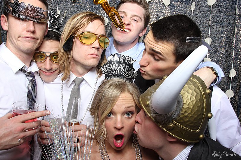 New Year S Eve Wedding Photo Booth Madness S I L L Y B O