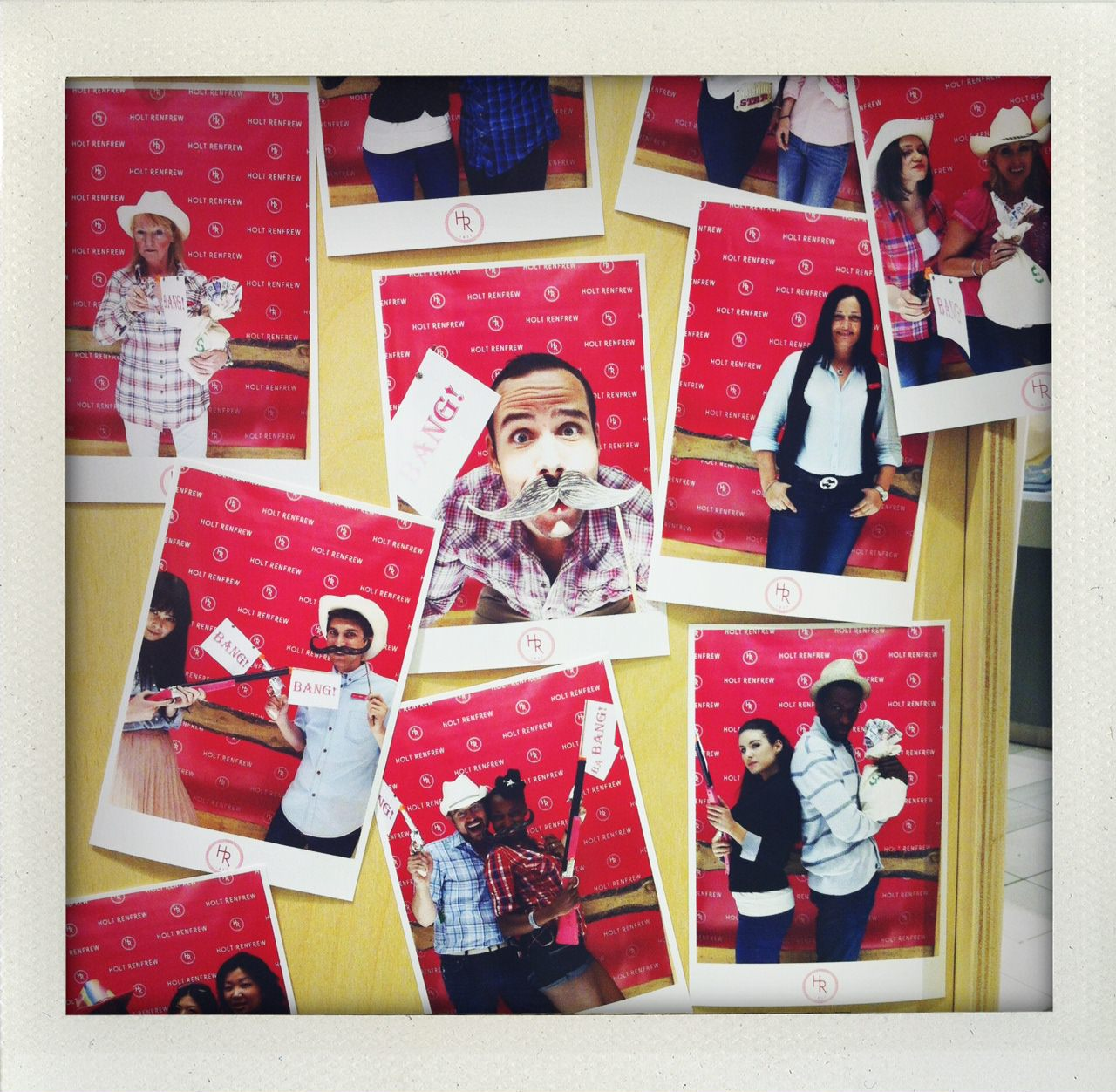 Rhinestone Cowboy Stampede Photo Booth At Holt Renfrew S